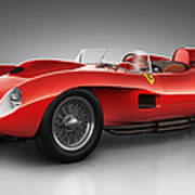 Ferrari 250 Testa Rossa - Spirit Art Print