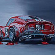 Ferrari 250gto Art Print