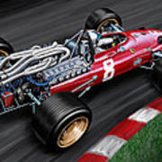 Ferrari 312 F-1 Car Art Print