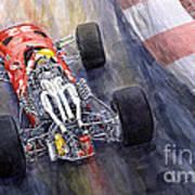 Ferrari 312 F1 1967 Art Print