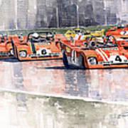 Ferrari 312 Pb Daytona 6 Hours 1972 Art Print