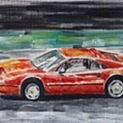 Ferrari 328 Art Print
