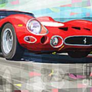 Ferrari 330 Gto 1962 Art Print