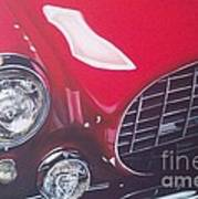 Ferrari 342 Art Print