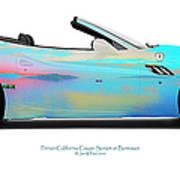 Ferrari California Bunessan Bay Art Print