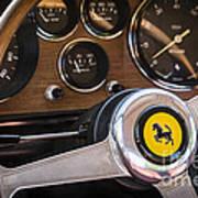 Ferrari Dash Art Print