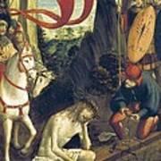 Ferrari, Defendente 1480-1540. Christ Art Print