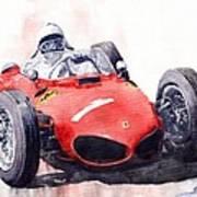 Ferrari Dino 156 F1 1961  Art Print