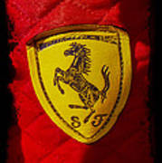 Ferrari Emblem Art Print