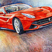 2014 Ferrari F12 Berlinetta  Art Print