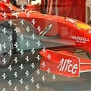Ferrari Formula One Art Print