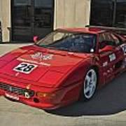 Ferrari Garage Art Print