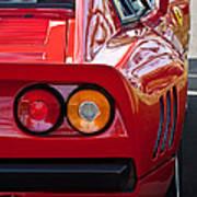Ferrari Gto 288 Taillight -0631c Art Print