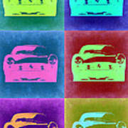 Ferrari Pop Art 2 Art Print
