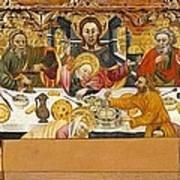 Ferrer, Jaume 15th Century. The Last Art Print