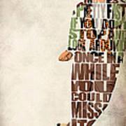 Ferris Bueller's Day Off Art Print by Ayse Deniz