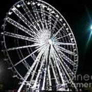 Ferris Wheel 11 Art Print