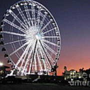 Ferris Wheel 19 Art Print