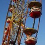 Ferris Wheel 2 Art Print