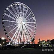 Ferris Wheel 22 Art Print