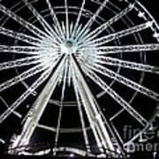 Ferris Wheel 8 Art Print