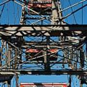 Ferris Wheel At Vienna Prater Art Print