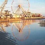 Ferris Wheel Jersey Shore 2 Art Print