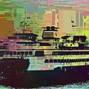 Ferry Cubed 2 Art Print
