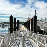 Ferry Dock Art Print