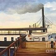 Ferry Hazel  Art Print