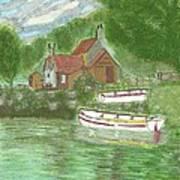 Ferryman's Cottage Art Print