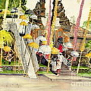 Festival Hindu Ceremony Art Print