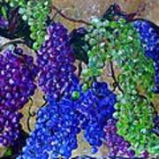 Festival Of Grapes Art Print