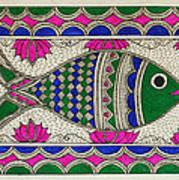 Festive Fish Art Print