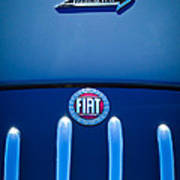 Fiat 750 Mm Zagato Panoramica Coupe Grille Emblem Art Print