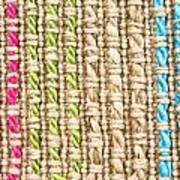 Fibre Texture Art Print
