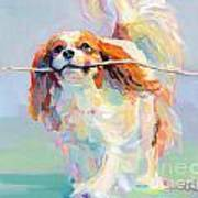 Fiddlesticks Art Print by Kimberly Santini