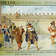 'fidelio' Act 2 Scene 8 - The Wicked Art Print