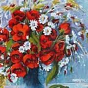 Field Bouquet 2 Art Print