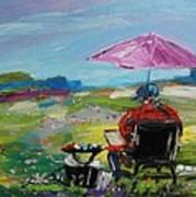 Field Painter  Art Print