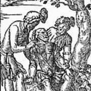Field Surgeon, 1547 Art Print