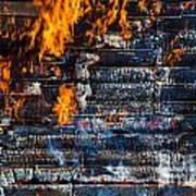Fiery Transformation Art Print