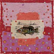 Fiesta Fish Collage Art Print