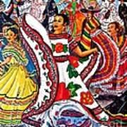 Fiesta Parade Art Print