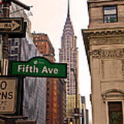 Fifth Ave. Art Print