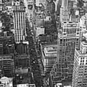Fifth Avenue In New York City. Art Print