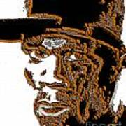 Fifty Cent Rapper Art Print