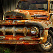 Fifty Two Ford Art Print