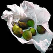 Figs In A Napkin Art Print