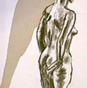 Figure Collage Art Print